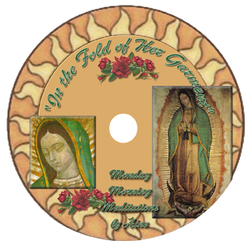 In the Fold of Her Garment (Our Lady Guadalupe)